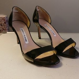 Manolo Blahnik Pump Sandals